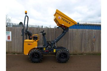 High tip dumper capacity 1000kg (approx 1120mm).