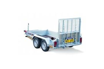 2000kg Plant Trailer 4ft x 8ft Bed