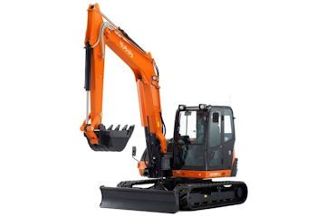 Kubota KX080-4 8 Ton Digger,