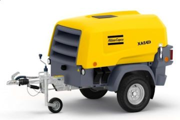 Towable Diesel Air Compressor