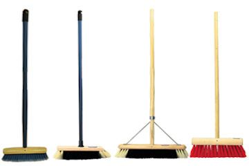 We als ocarry a good selection of Brooms from little coco brooms to large yard nylon brooms