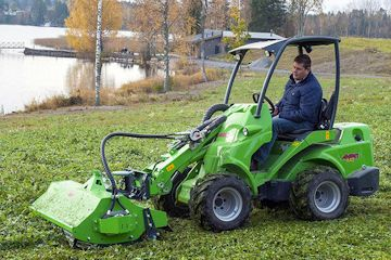 Avant Flail Mower Attachment