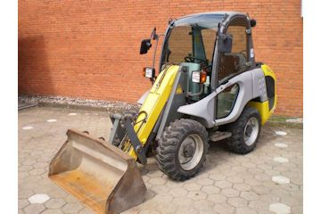 Kramer 180 4 wheel steer loader