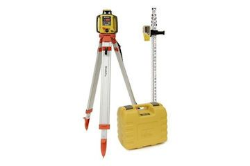 Laser level kit (includes tripod and staff.