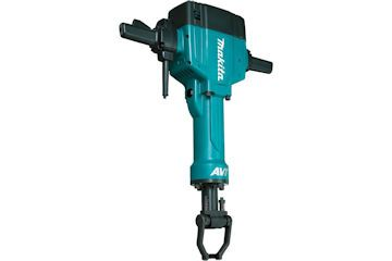 Makita HM1810 Heavy Electric powered upright breaker for demolition and breaking concrete up to 150mm.