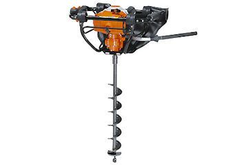 STIHL two stroke petrol powered hole borer