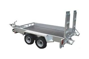 3000kg Plant Trailer 6ft x 10ft Bed