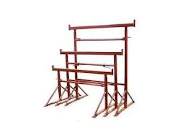 Steel builders trestles (various sizes available).